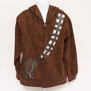 Halloween Disney Star Wars Chewbacca Zip Up Hoodie